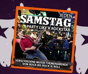 Samstag - Party like a Rockstar